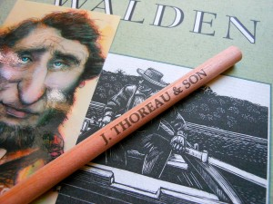 Replica pencil from The Shop at Walden Pond.