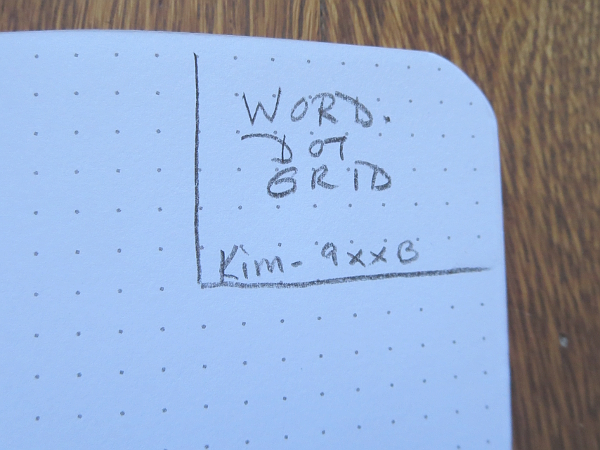 Word Notebooks Dot Grid Pencil Revolution – Making Graph Paper in Word