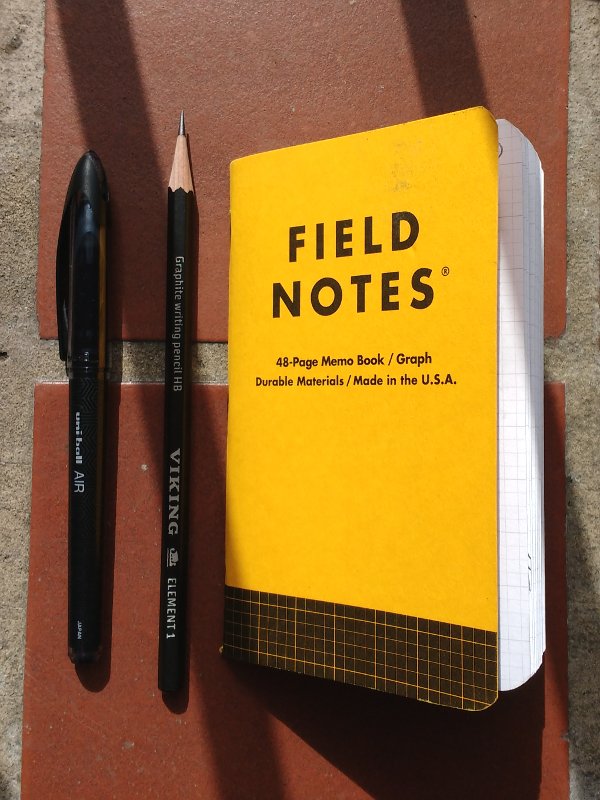Best Pencils for Field Notes Utility Edition.